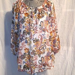 ALYX loose fit blouse.